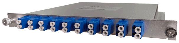DWDM двухволоконный мультиплексор